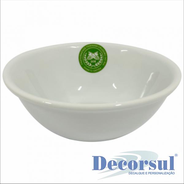 Tigela de porcelana personalizada 1 litro Itaquiense