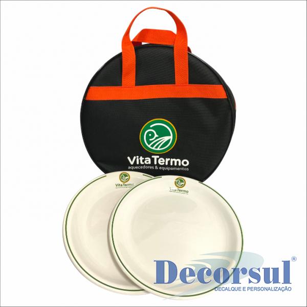 Bolsa porta prato Nylon 600 com impressão