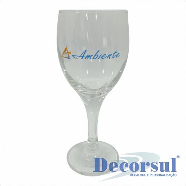 Taça personalizada Imperatriz - Vinho branco 290ml
