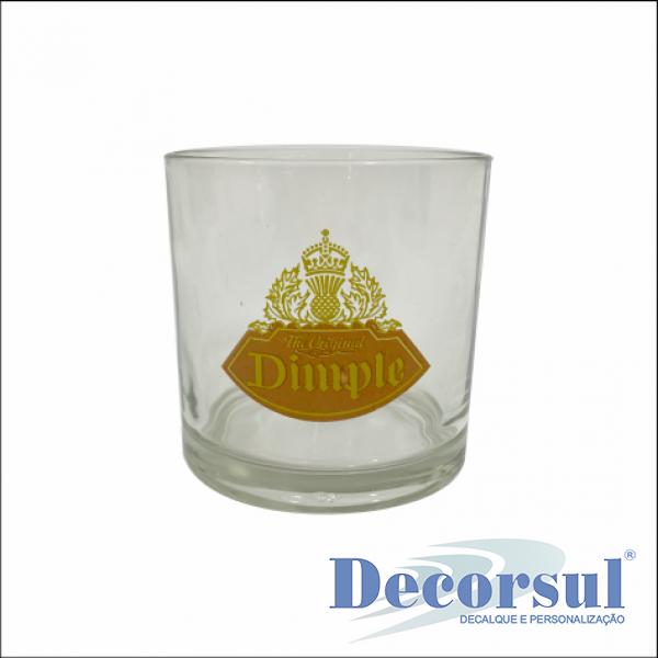 Copo whisky personalizado Bar 265ml
