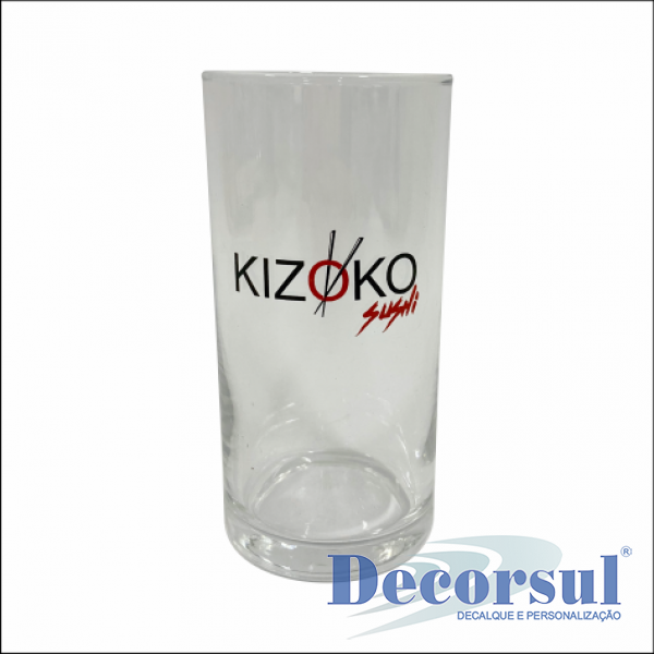 Copo personalizado Cylinder Long Drink 300ml