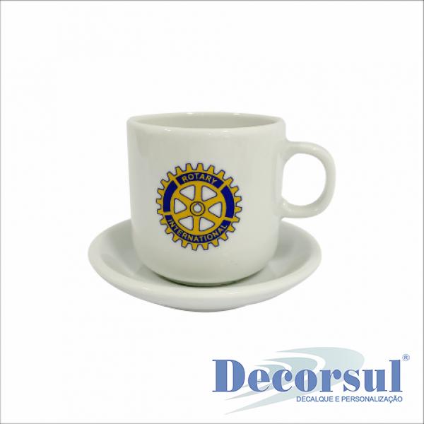 Xícara porcelana café personalizada Bold 90ml
